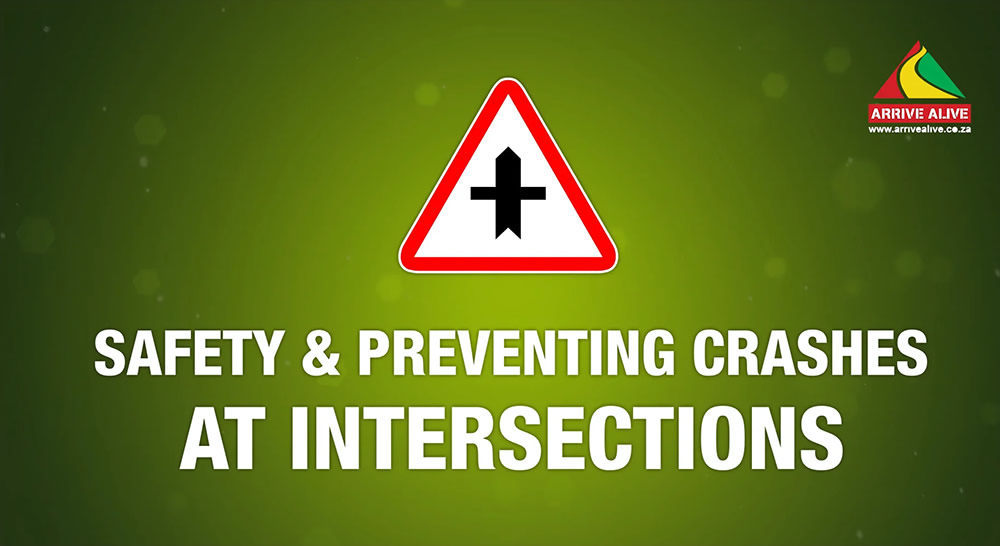 Intersection Safety Tips