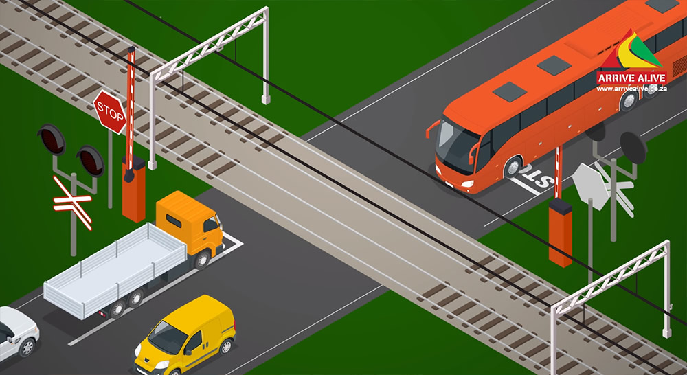 Road Safety at level crossings