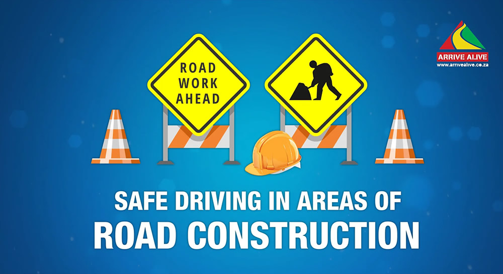 Road safety on construction areas